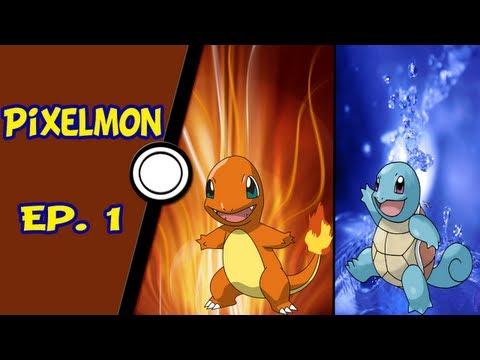 Minecraft Pixelmon Pokémon o início Ep. 1
