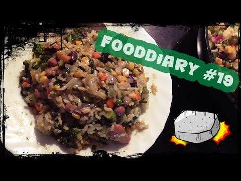 [Abspecken] Food nach der Schwangerschaft #19︱Reis︱ Gemüse︱Nicecream