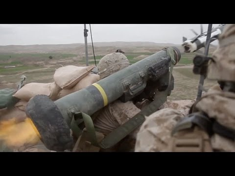Marines fire Javelin Missile against Taliban