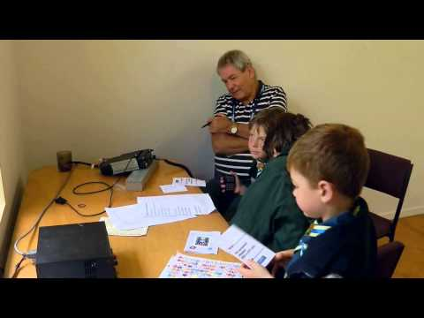 D-Star Amateur Radio at JOTA 2012.avi
