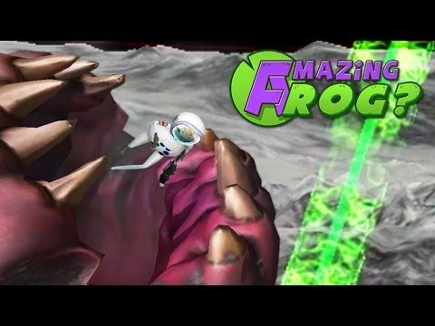 KING SANDWORM vs GIANT LASER - Amazing Frog - Part 99   Pungence