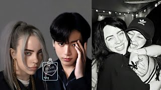 KPOP Idols & Billie Eilish moments