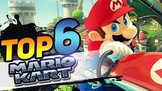 Top 6 Juegos de Mario Kart │Jarem64