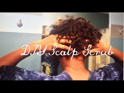 DIY Scalp Scrub | Natural Hair | constant itchy scalp reliever