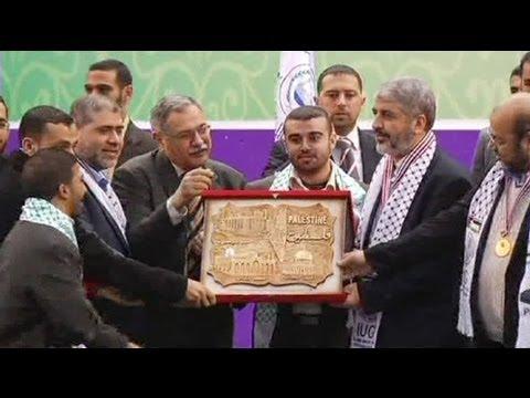 Netanyahu critica Abbas por ocasião da visita de Meshaal a Gaza