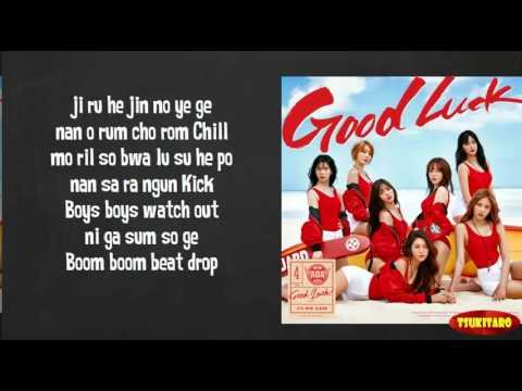 AOA - Good Luck Lyrics (easy lyrics)