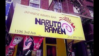 Miso Ramen At Naruto Ramen NYC - New York City Street Food 2018