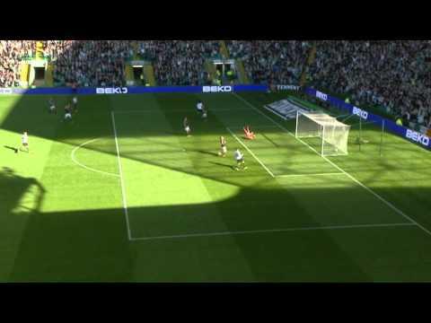 Georgios Samaras Goal, Celtic 1-0 Hearts, 07/10/2012