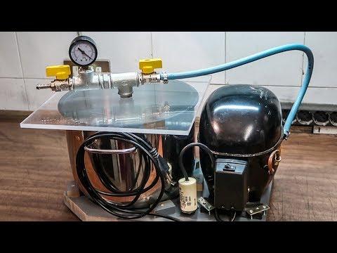 DIY Vacuum Pump And Chamber