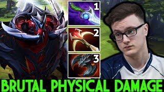 MIRACLE [Shadow Fiend] Brutal Physical Damage Try Hard Game 7.24 Dota 2
