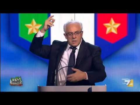 Crozza nel Paese delle Meraviglie - Crozza-Tavecchio commenta la condanna inferta dalla UEFA