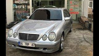 Mercedes W210 E200 kompressor elegance FL 186HP test sürüşü