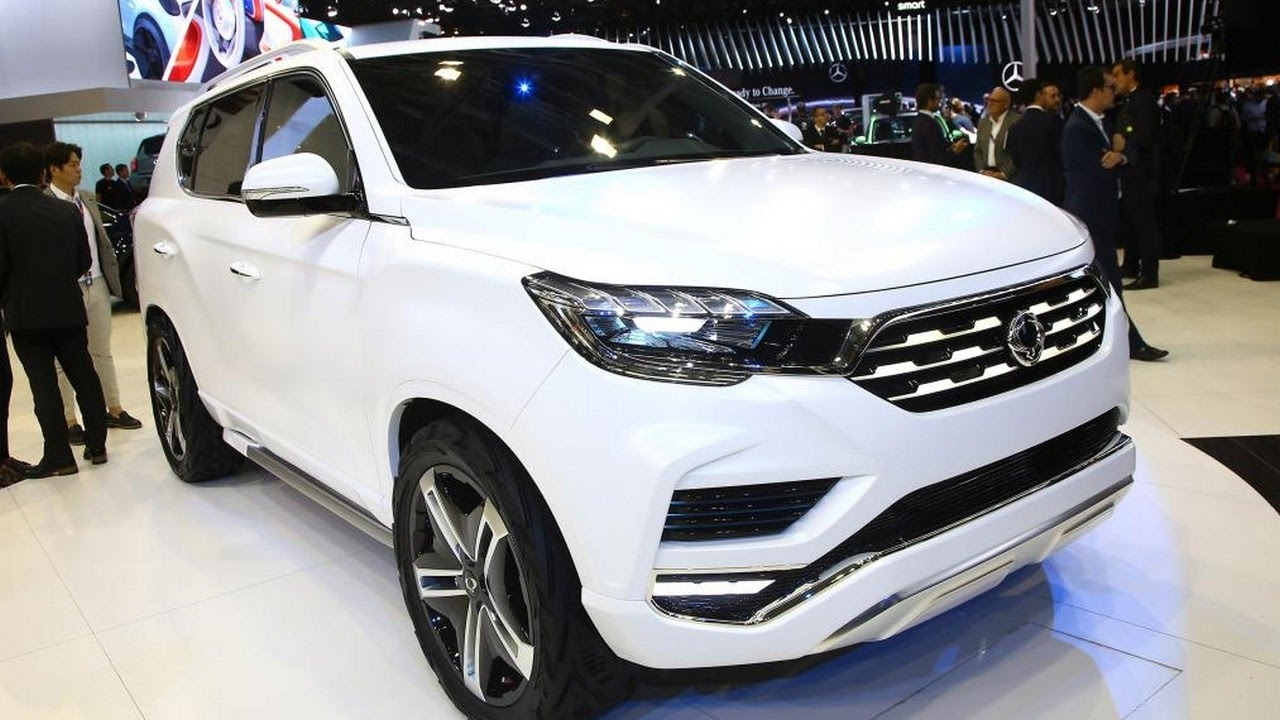 Wow <b>SsangYong</b> Rexton <b>2018</b> - YouTube