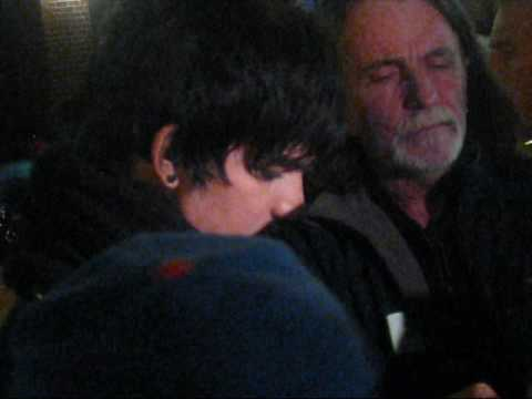 Adam Lambert Stage Door after Letterman - Nov 23, 2009