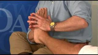 Walt Fritz discusses Compressive Myofascial Release for the Foot using Oakworks equipment