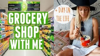 How I Eat Healthy | Come Grocery Shopping With Me + Day In The Life