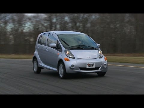 Mitsubishi i-MiEV road test from Consumer Reports