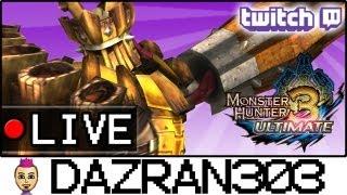 MH3U LIVESTREAM #29.3 | Monster Hunter 3 Ultimate Gameplay w/ Dazran303