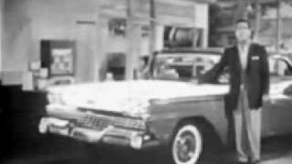 1959 Ford Commercial With Tennessee Ernie Ford