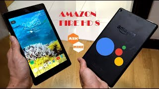Amazon Fire HD 8 - Enable Google Assistant - Android Tablet Transformation EP04