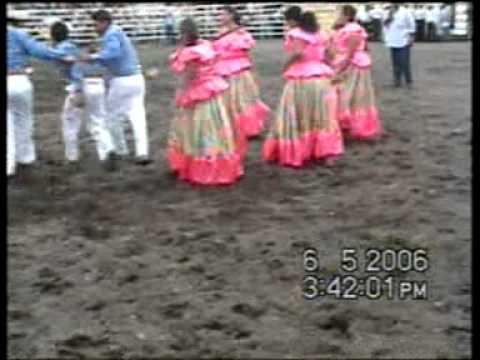 Ballet Ecuatorianisima internacional,Danza Rodeo Montubio(Galope) Dia De La Raza,Litoral-Ecuador