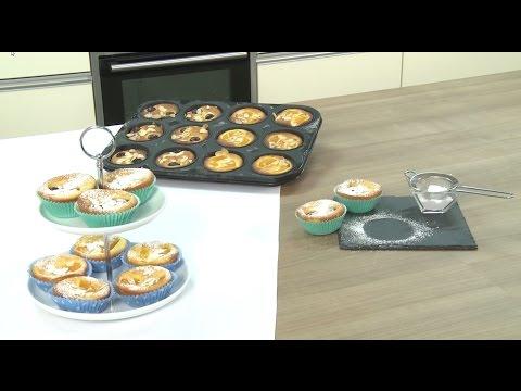 Rezept: Fruchtige Topfenmuffins