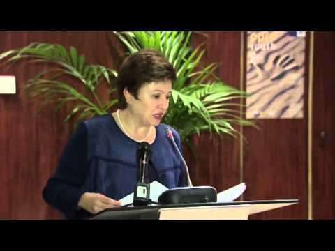 EC Commissioner Kristalina Georgieva speech @ PPRD South Conference