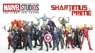 Marvel Studios The First 10 Years Marvel Legends Complete Series Action Figure Toy Ranking