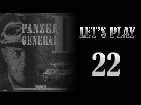 Let's Play Panzer General II - Episode 22 - BRRReakout! (Defend the Reich campaign start)
