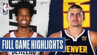 TRAIL BLAZERS at NUGGETS | FULL GAME HIGHLIGHTS | December 12, 2019