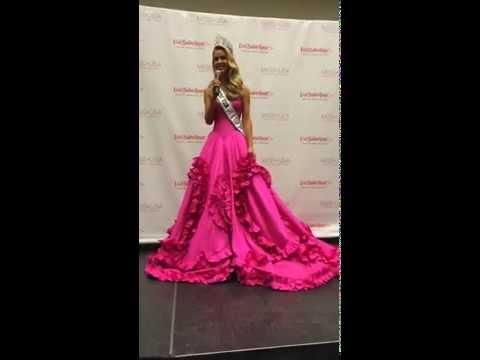 Olivia Jordan Miss USA 2015 on Donald Trump