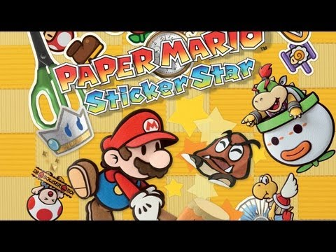 CGRundertow PAPER MARIO: STICKER STAR for Nintendo 3DS Video Game Review