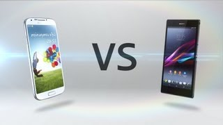 Xperia Z1 Vs. Galaxy S4