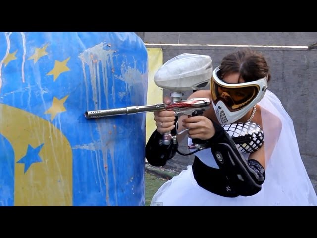 Paintball Wedding