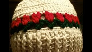 Tulip beanie Part 2