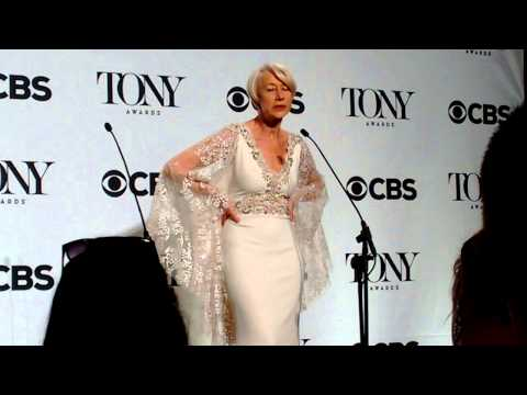 Helen Mirren after winning Tony: 'I really want a Grammy!'