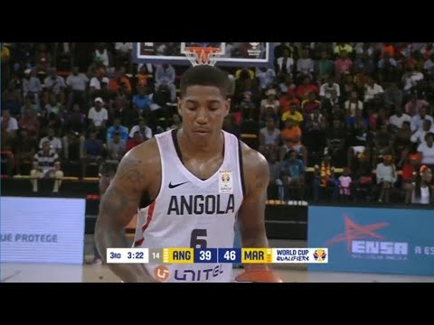 Carlos Morais: Highlights - Angola vs Morocco | FIBA Basketball World Cup 2019 - African Qualifiers