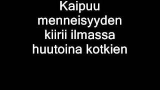Watch Nightwish Eramaajarvi video