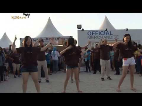 Kyochon Dance At Super Junior Concert Jakarta 2013 video
