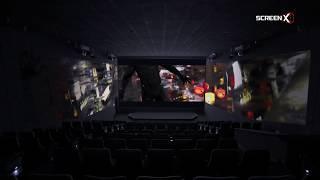 Black Panther at ScreenX Movie Trailer
