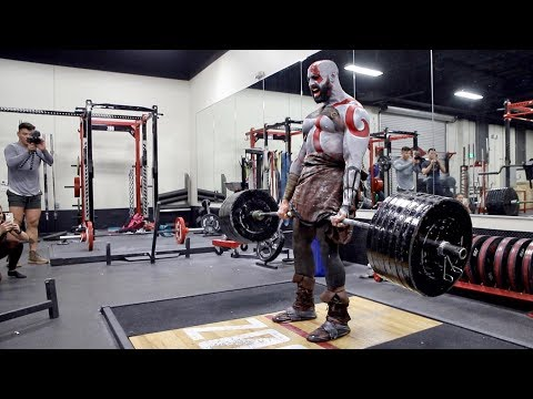 EPIC KRATOS GOD OF WAR WORKOUT!