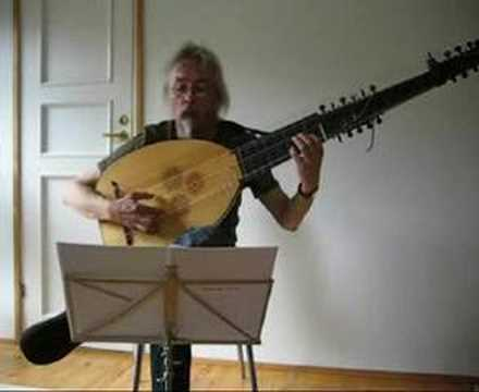 Biber: Passagalia, archlute arrangement