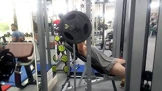 Incline chest workout