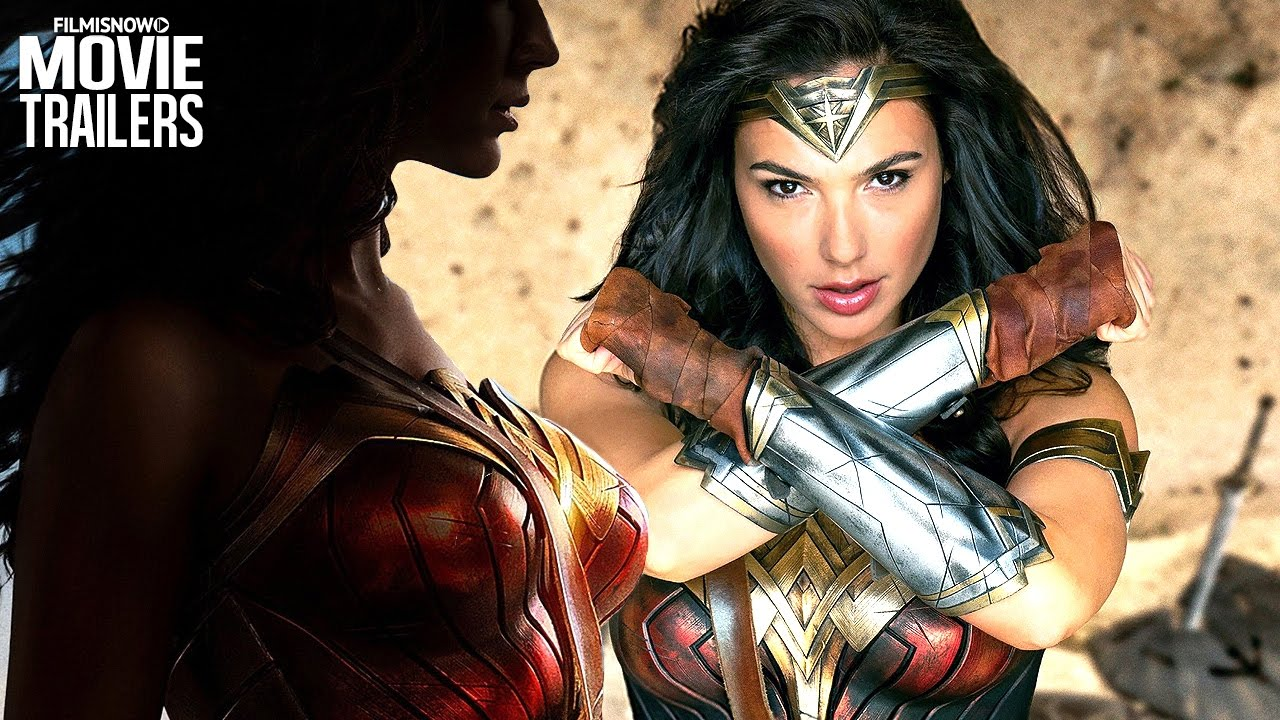 WONDER WOMAN - Gal Gadot strikes in all new trailer