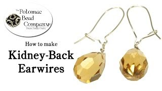 How to Make Kidney Back Earwires