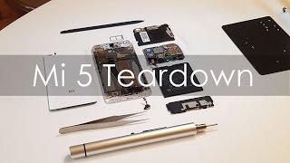 Xiaomi Mi 5 Teardown by Hugo Barra - Geekyranjit