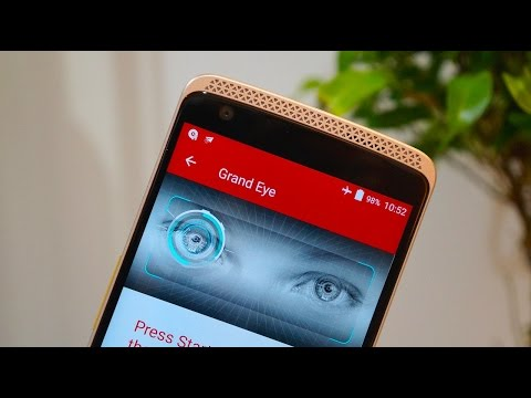 Axon Elite Hands-On: the Phone that Scans your Eyeballs
