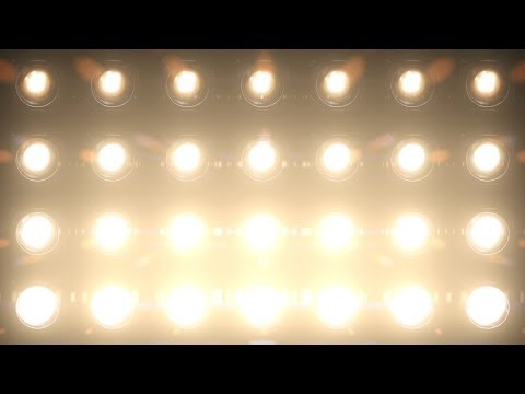 Lights Flashing Wall Of Lights  Motion Graphics video