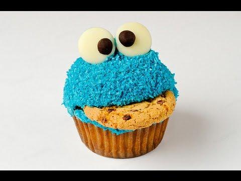 Recipe  Cookie Monster Cupcake Review  Pinterest, Instagram, Tumblr