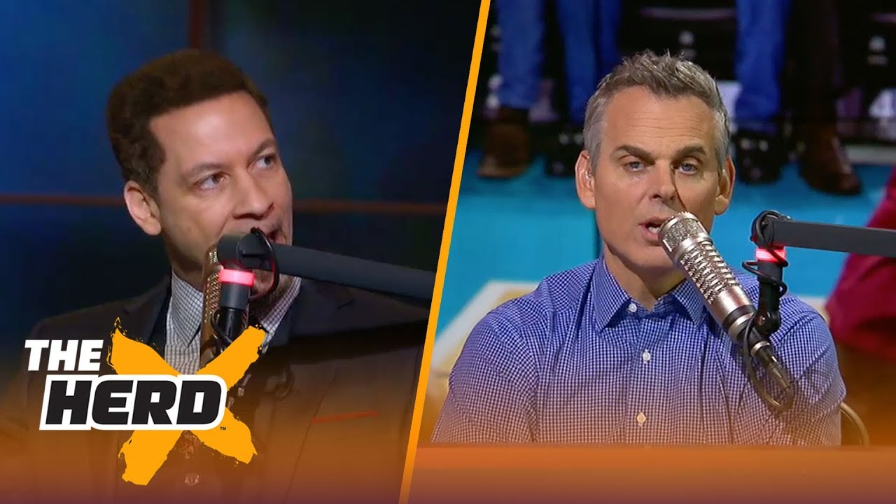 Chris Broussard on Boston's rookies after their 92-88 win against Golden State | THE HERD
